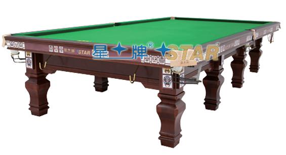 济宁星牌台球桌价格