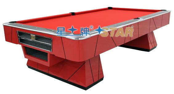 山东星牌花式台球桌